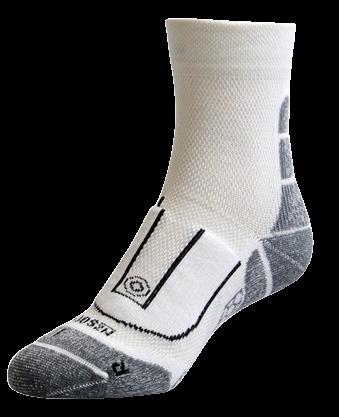 NZ Sock Company E02 Unisex Coolmax Performance Tec Quarter Socks