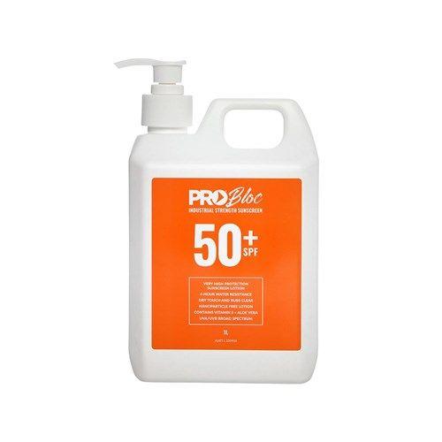 Prochoice PROBLOC SPF50+ Sunscreen Pump Bottle 1L