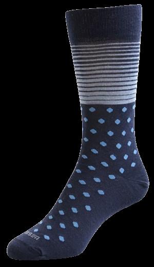 NZ Sock Company F434 Mens Merino Conflict Dress Socks