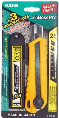KDS Job Boss Pro Powerblack + 3 Blades 25mm