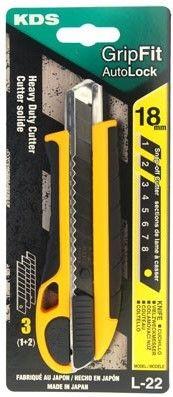 KDS Grip Fit Autolock or Screw Lock Knife 18mm