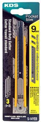 KDS Slim Safety Lock Knife 9mm