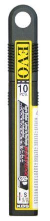 KDS Evo Black Heat Toughened Blades 9mm Pack 10
