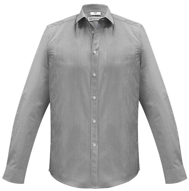 Fashion Biz Mens Euro Long Sleeve Shirt