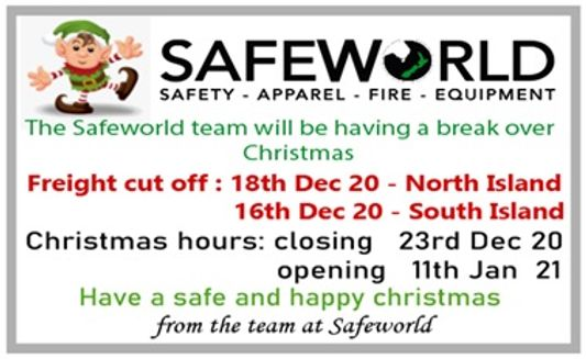 Safeworld Xmas Banner