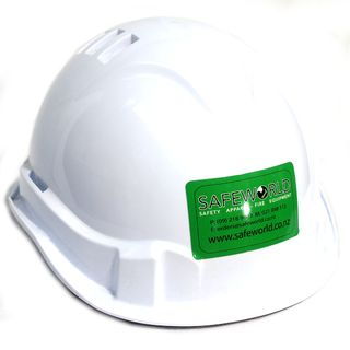 HARD HAT WHITE VENTED