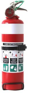 ABE 1.0KG FIRE EXT C/W VBRKT