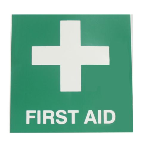 FIRE EXT FIRST AID LABEL