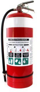 ABE 9.0KG FIRE EXT C/W WBRKT