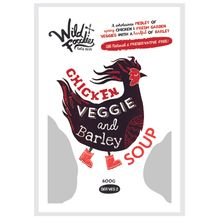 Chicken Veggie & Barley Soup  x 6
