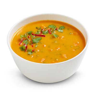 Thai Sweet Potato & Kaffir Soup