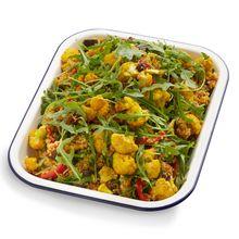 Kasoundi Quinoa w Rocket & Spice Roasted Cauliflower
