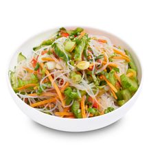 Glass Noodles w Asian Veg
