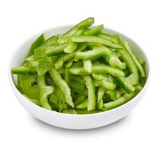 Capsicum Green sliced