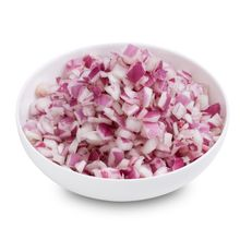 Onions Red diced 10mm