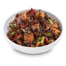 Black Quinoa with Sweet Potato