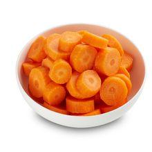 Carrots sliced, rings