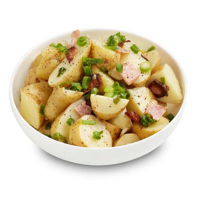 Kipfler Potato, Bacon & Shallot