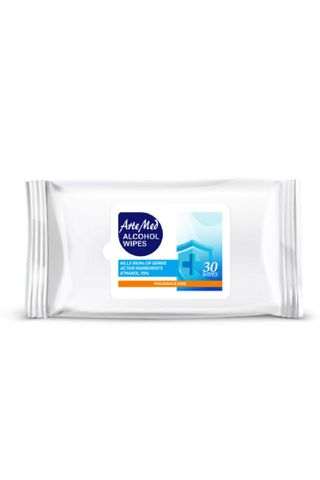 ARTEMED ALCOHOL WIPES 30 PK
