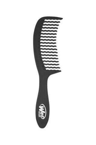 WET BRUSH DETANGLING COMB WAVETOOTH BLK*