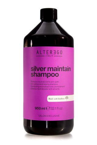 ALTER EGO SILVER MAINTAIN SHAMPOO 950ML