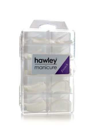 HAWLEY FRENCH WHITE TIPS 100PK ASSORT.