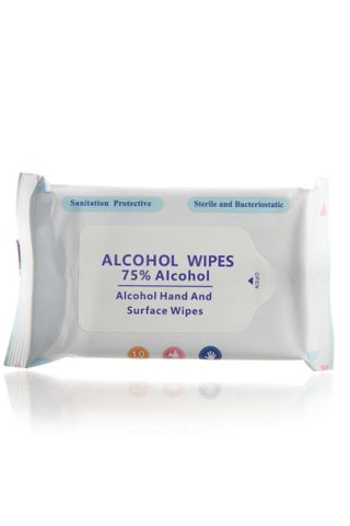 ALCOHOL HAND & SURFACE WIPES 10PK