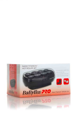BABYLISS CERAMIC JUMBO HOT ROLLERS 8PCE*
