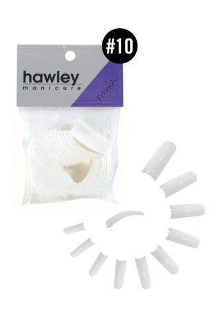 HAWLEY FRENCH WHITE TIPS 50PK #10