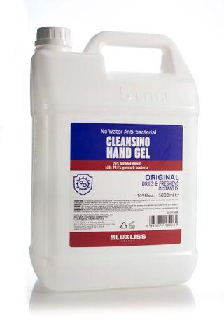 LUXLISS CLEANSING HAND GEL 5L
