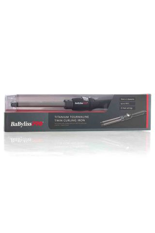 BABYLISS TWIN BARREL CURLING IRON*