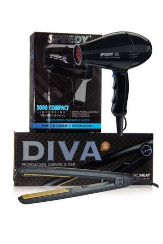 SPEEDY 5000 COMPACT/DIVA IRON BLACK
