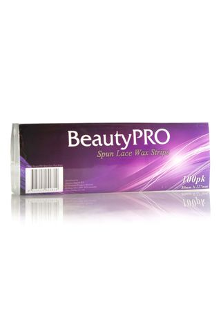 BEAUTY PRO SPUN LCE WAX STRIPS 100PK