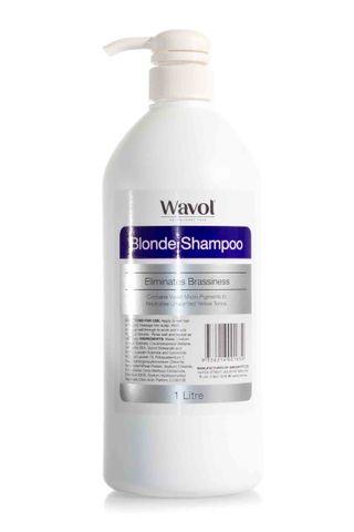 WAVOL BLONDE SHAMPOO 1L