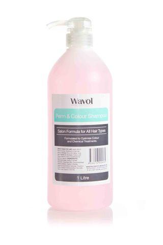 WAVOL SHAMPOO 1L PERM & COL
