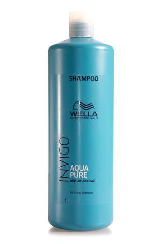 WELLA INVIGO AQUA PURE SHAMPOO 1L