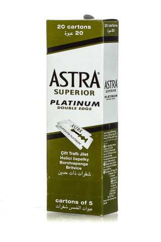 ASTRA BLADES 20 X 5PK ONE OUTER GREEN