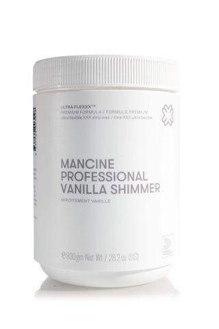MANCINE VANILLA SHIMMER STRIP WAX 800G