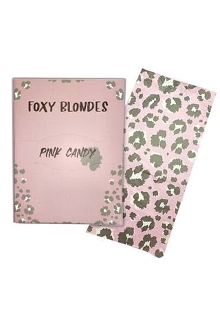 FOXY BLONDES FOIL PINK CANDY 40CM 250