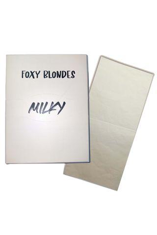 FOXY BLONDES FOIL MILKY 40CM 250 SHEETS