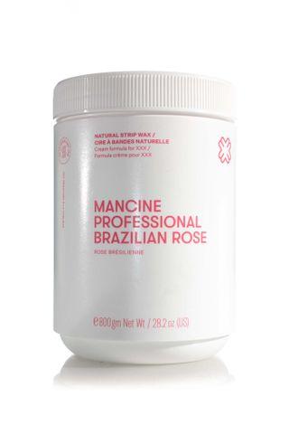 MANCINE BRAZILIAN ROSE STRIP WAX 800G