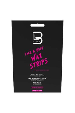 LEVEL 3 FACE & BODY WAX STRIPS