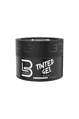 LEVEL 3 TINTED BLACK GEL 250ML