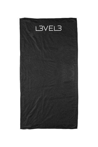 LEVEL 3 PROFESSIONAL SHAVING TOWEL BLACK