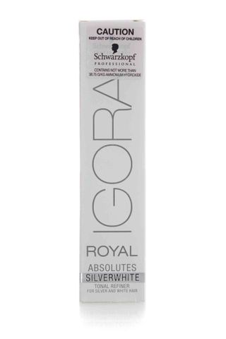 IGORA ROYAL ABSOLUTES SILVER WHITE 60G