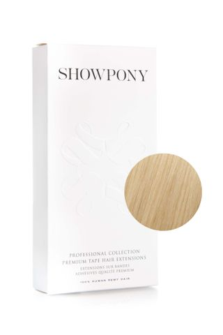 "SHOWPONY TAPE 10PC 20"" 11G PLATINUM BLON"