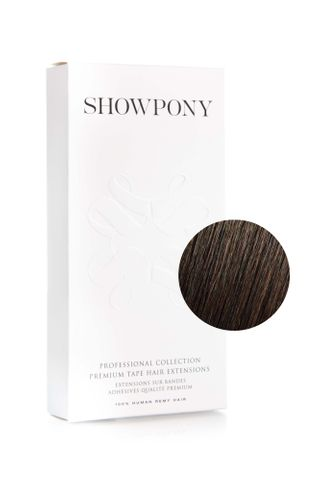 SHOWPONY TAPE 4N/2A MIDNIGHT BROWN 20