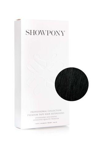 """SHOWPONY TAPE 10PC 20"""" 1N BLACK"""