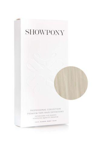 "SHOWPONY TAPE 10PC 20"" 11AI WHITE BLONDE"