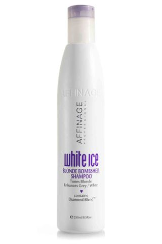 AFF WHITE ICE BLONDE SHAMPOO 250ML*